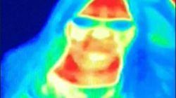 Esta foto de la cámara térmica de una atracción ha detectado un cáncer a una