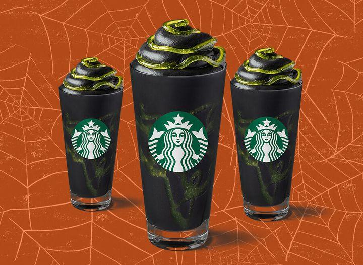 Phantom Halloween Drink Starbucks 2020 Starbucks' Halloween Phantom Frappuccino Is Here – And We Tried It