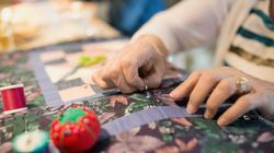 99-Year-Old's Visionary Quilt Being Finished By Community Of