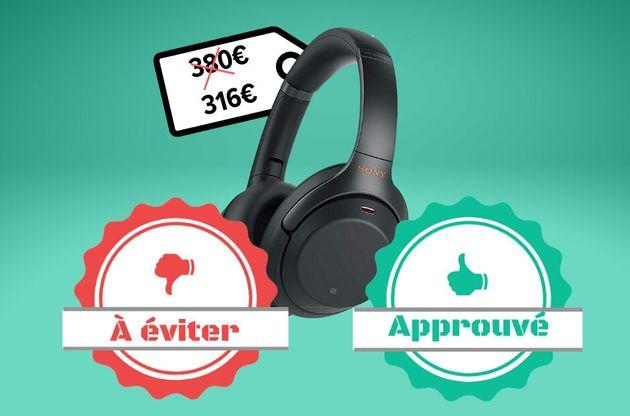 Le casque bluetooth à réduction de bruit active Sony WH-1000XM3 en promo sur Amazon vaut-il le