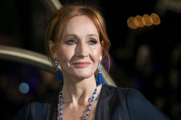 J.K. Rowling na estréia do filme