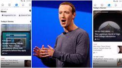 Zuckerberg lancia la novità 'Facebook News':