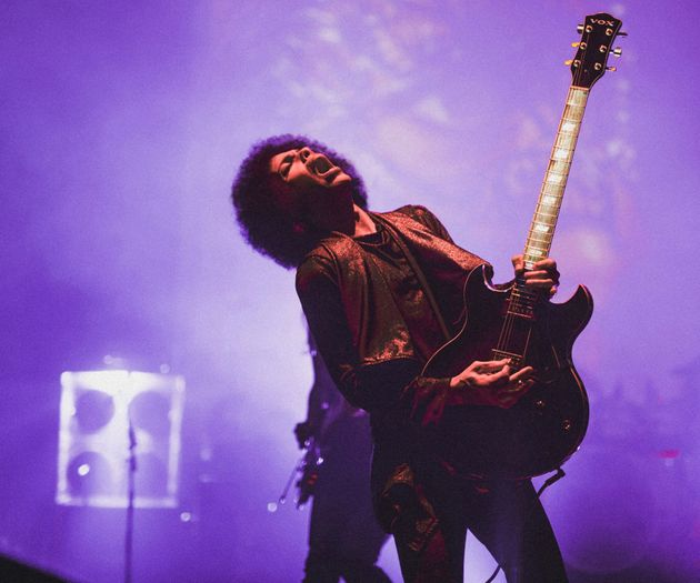 Prince performs onstage at Warner Theatre on June 14, 2015 in Washington,