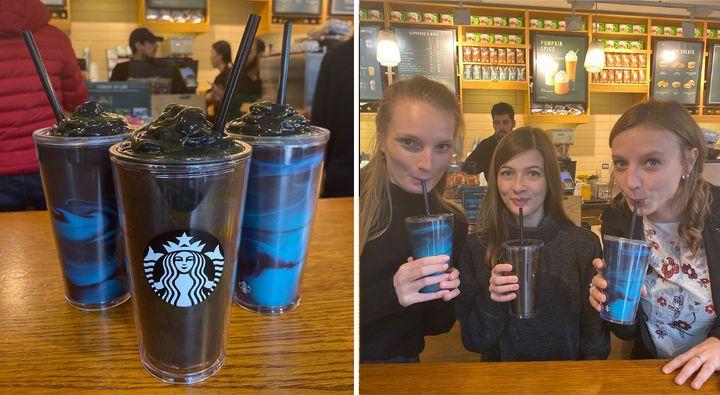 Starbucks Halloween Phantom Frappuccino Is Here And We