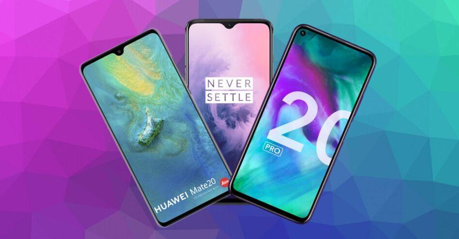 Honor 20 Pro, OnePlus 7T, Huawei P30, Asus Zenfone 6... nous avons fait le tri pour vous proposer les...