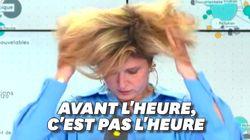 Cette présentatrice de France info s'est retrouvée à l'antenne un poil trop
