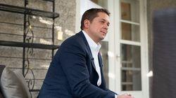 Andrew Scheer sait que son avenir comme chef conservateur n'est pas