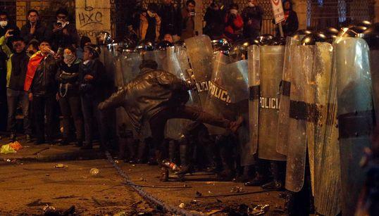 Βολιβία: Συνεχίζονται οι αντικυβερνητικές διαδηλώσεις λόγω του αποτελέσματος των προεδρικών