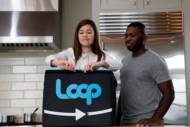 Look at the size of the Loop tote. It's huge. And if you live in a tiny apartment, like me, its size...