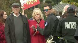 Jane Fonda arrêtée pour la 3e fois consécutive dans l'une de ses manifestations pour le