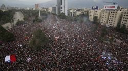 One Million People Jam Chile's Capital In Protest Against