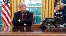 트럼프가 뜬금 없이 '아이폰 홈버튼 없음'을