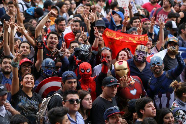 Χιλή: Πάνω από ένα εκατομμύριο διαδηλωτές στους δρόμους στο