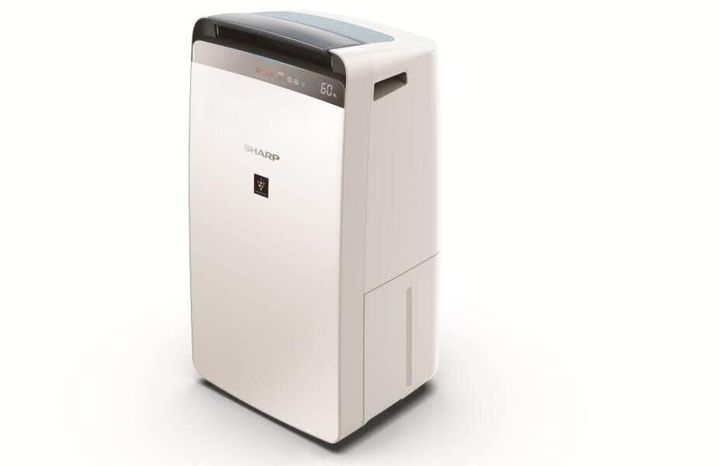 The Sharp Air Purifier comes with a built-in dehumidifier.