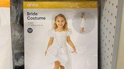 「少女向けウェディングドレス」は児童婚を連想?