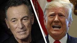 Il boss contro il presidente. Bruce Springsteen: