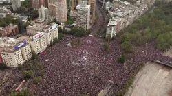 Chile vive la manifestación más masiva de su historia democrática: 1,2 millones de personas salen a la calle contra