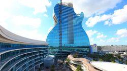 Εγκαινιάστηκε το εντυπωσιακό Guitar Hotel στη