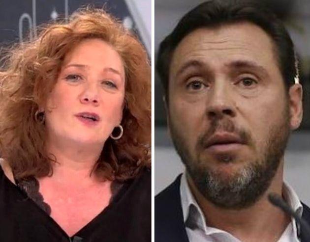 Cristina Fallarás y Oscar