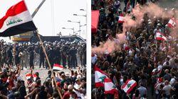 Da Baghdad a Beirut, le piazze della frustrazione e della