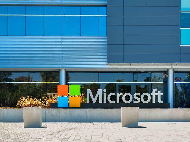 Photo du Microsoft Silicon Valley Center, en