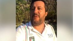 Salvini viola il silenzio elettorale e attacca Conte: