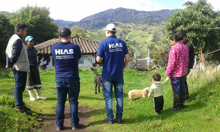 HIAS has multiple offices in Ecuador, which has one of the largest refugee populations in Latin America.