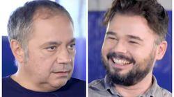 Pepe Colubi provoca la carcajada de Rufián tras lo que dijo sobre esta dirigente del