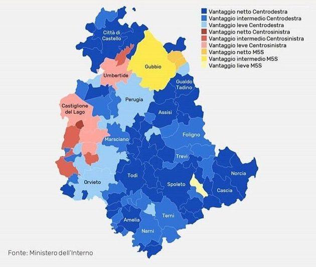 Umbria - Elezioni Politiche