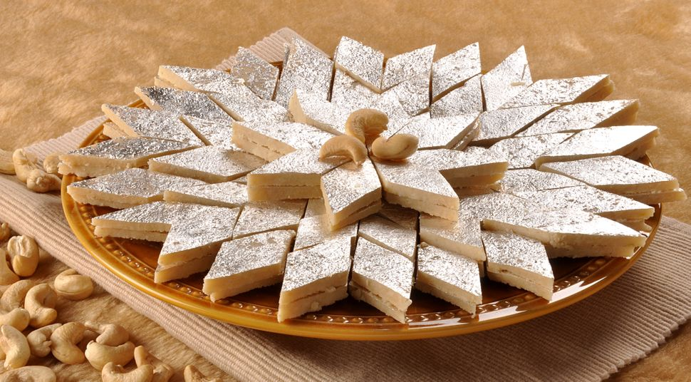A delicious sweet food (Kaju Katli)