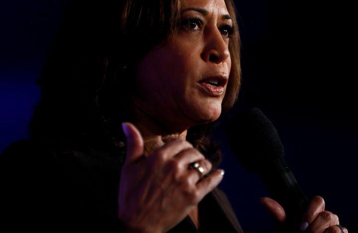 Sen. Kamala Harris (D-Calif.) in Los Angeles, California, earlier in October.