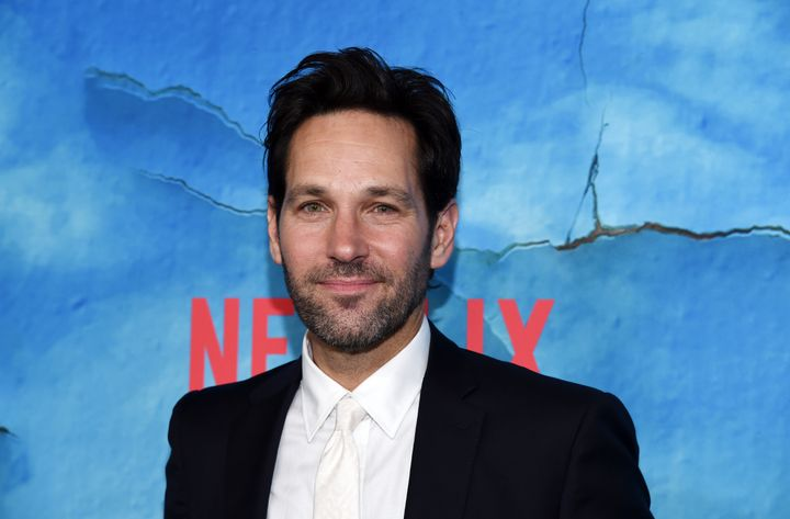 """Paul Rudd arrives at the premiere of Netflix's """"Living With Yourself"""" at ArcLight Hollywood on Oct. 16, 2019."""