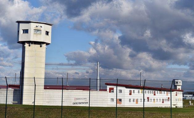 La prison de Vendin-le-Vieil, en février