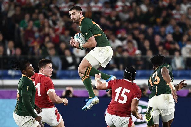 Coupe du monde de rugby: l'Afrique du Sud face au Pays de Galles en