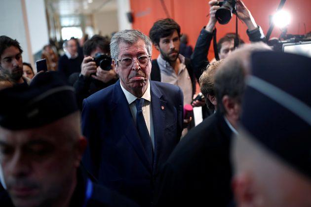 Le maire de Levallois-Perret, Patrick Balkany au tribunal le 13 mai