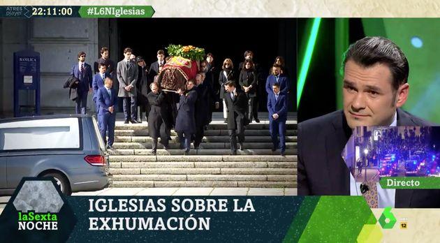 Iñaki López, presentador de 'LaSexta