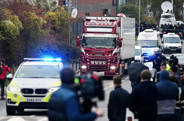 Three Arrested After Essex Lorry Deaths Released On Bail