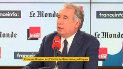 François Bayrou veut un