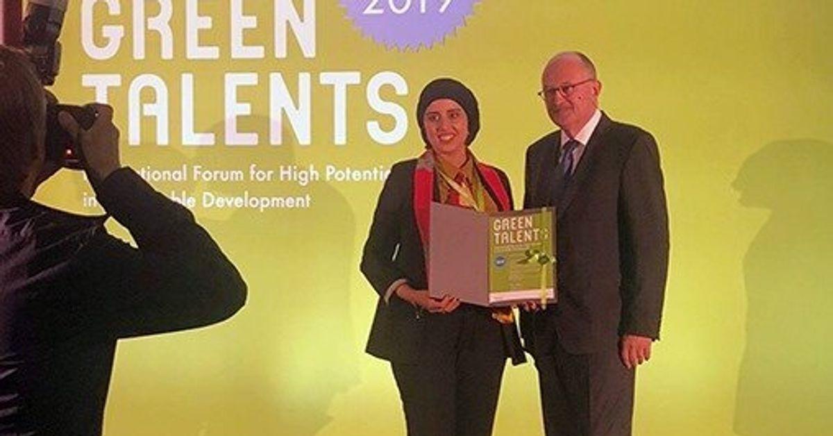 La chercheuse marocaine Karima El Azhary remporte le prix Green Talents Award 2019 en Allemagne