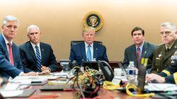 Guardando Al Baghdadi morire. La Casa Bianca diffonde la foto di Trump nella Situation