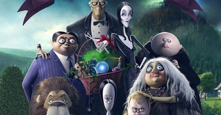 Cartel de Los Locos Addams