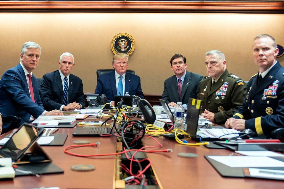 Comme Obama, Trump a désormais sa photo dans la