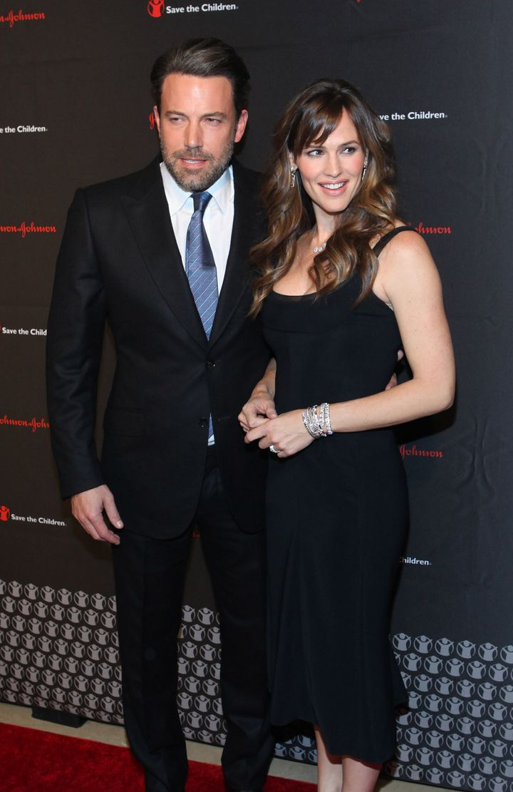 Ben Affleck and Jennifer Garner attend the Save the Children gala in 2014.