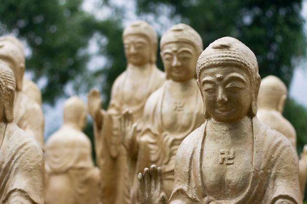 Βούδες στο μοναστήρι...