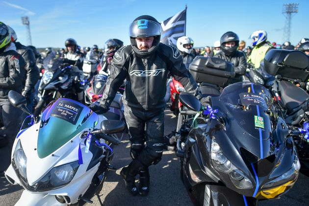 PC Andrew Harper: Widow Leads 5,000 Motorcyclists In Tribute To Killed Police