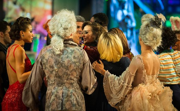 The Strictly stars say their goodbyes to