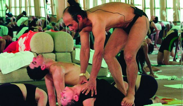 Bikram Choudhury, the founder of hot yoga, who's been accused of harassment and rape.