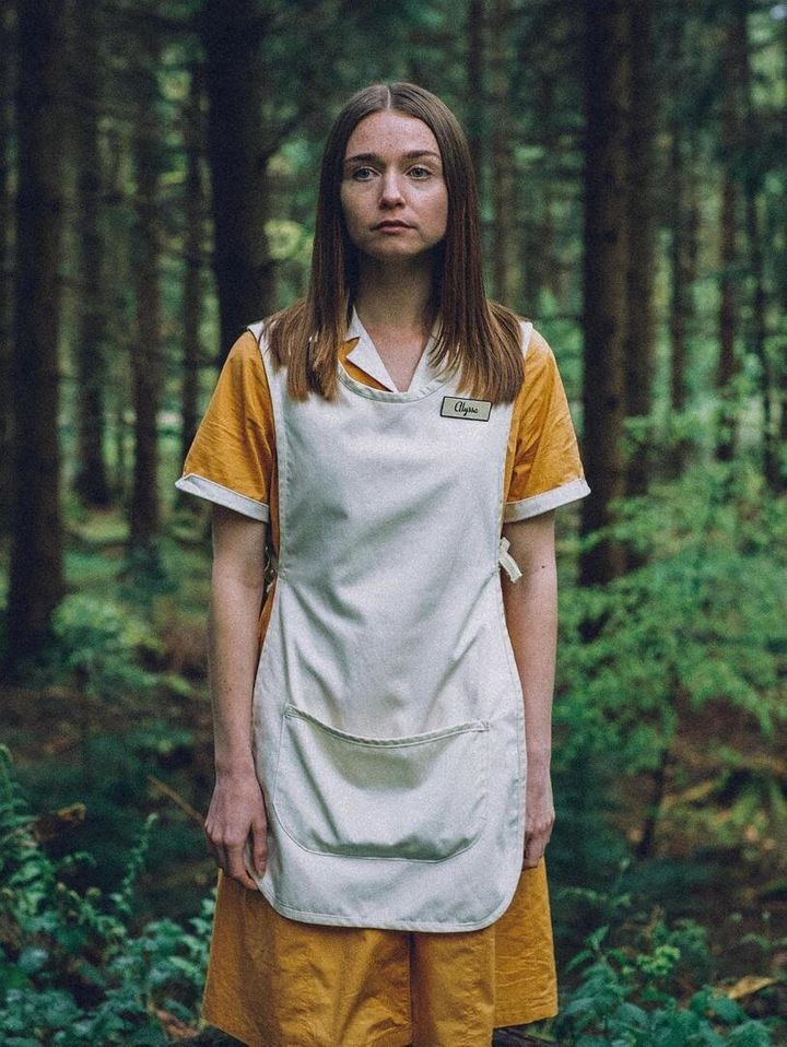 "Jessica Barden as Alyssa in ""The End Of The F***ing World."""