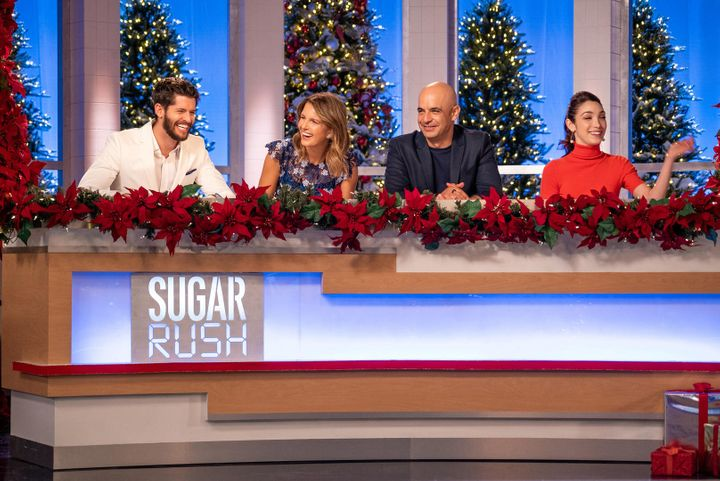 "The cast of ""Sugar Rush Christmas."""