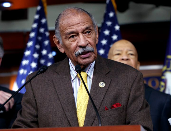 Former Rep. John Conyers died Sunday at age 90.